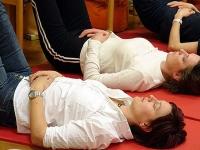Meditation: In jedem Seminar gibt es Zeit für Entspannung und Blick nach Innen.
