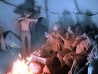 Veränderungsfest im Tipi-Zelt: Feier am Feuer!