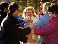 Übung Hindernislauf: Freilich fraulich stärker!