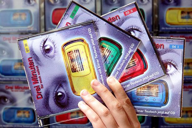 Drei Minuten für mich selbst CDs Reihe Hand / Foto: TELOS - B01749b