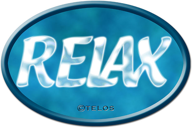 Audioline Relax Logo Schatten / Grafik: TELOS