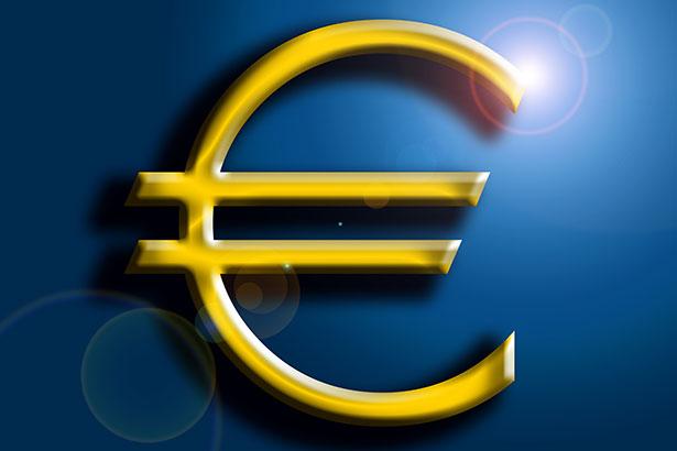 Geld Euro Gold Euro-Zeichen / Grafik: TELOS - 07125b
