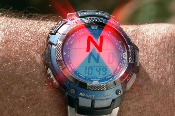 Kompass Norden Arm D3806nnn