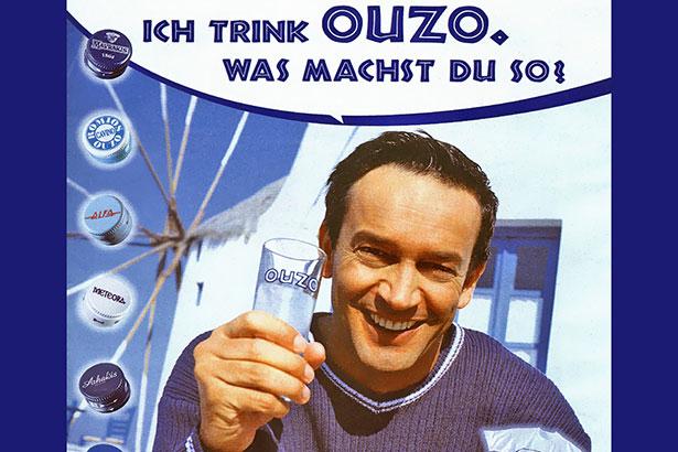Werbung Ouzo Du