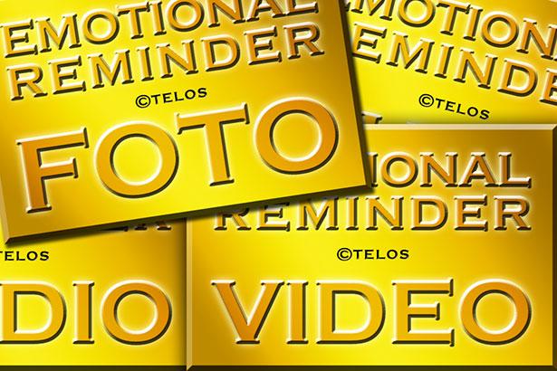 Emotional Reminder Logos Fotoreminder Audioreminder Videoreminder