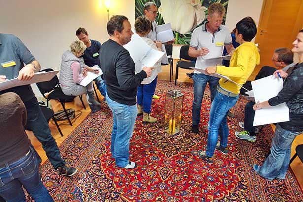 Seminar übung kennenlernen