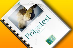 HL9-1 Homelearning 9 Geld 1 Der Prägetest Titelbild quer nahe