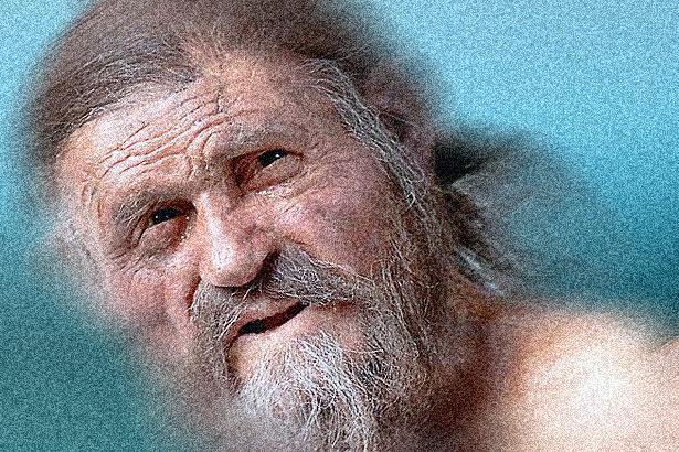 Der Mann im Eis: sind wir heute wirklich 5.000 Jahre gescheiter? Fotobarbeitung: TELOS