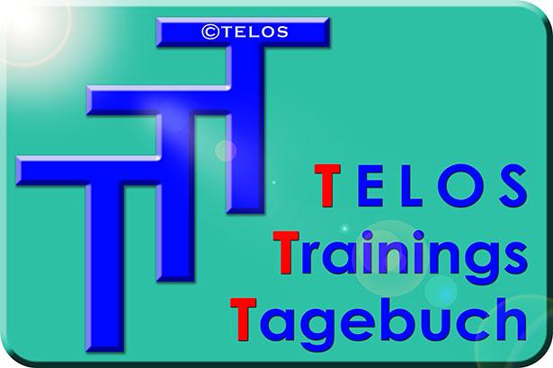 TELOS Trainings Tagebuch TTT Logo Glanz