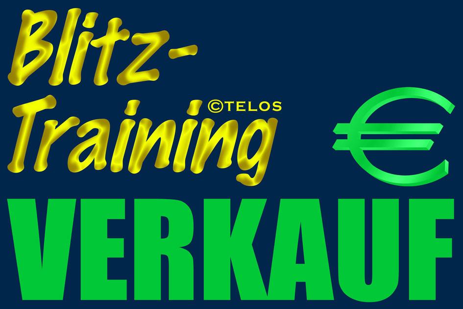Blitztraining Verkauf Logo / Grafik: TELOS