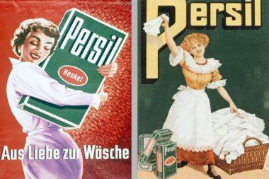 Werbung Waschmittel Persil alt / Repro: TELOS - 2986