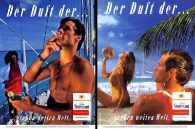 Werbung Zigaretten Peter Stuyvesant Der Duft der großen weiten Welt 12540