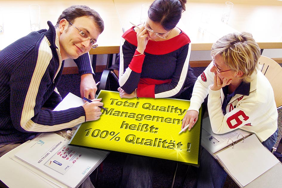 Gruppe Qualität Total Quality Management 09673c