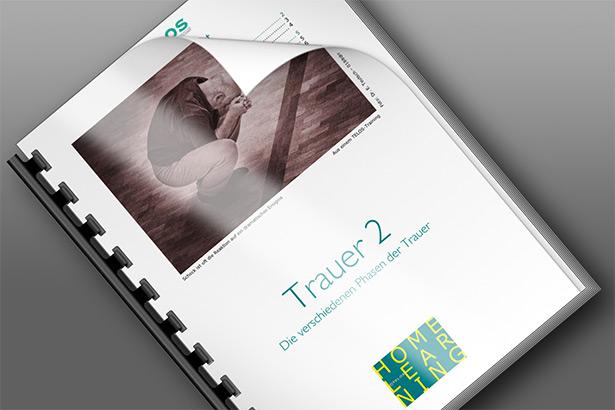 HL5 2 Homelearning 5 Trauer 2 Phasen der Trauer Titelbild quer