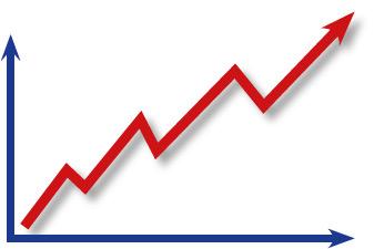 Erfolg Diagramm Grafik Umsatz Steigerung 2395kl