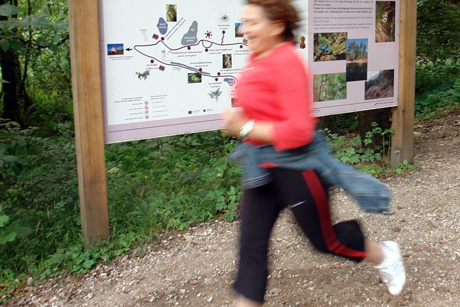 Outdoor Laufen Frau Vorbichl Prissian Tisens B3350nn