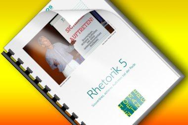 HL35-5 Homelearning 35 Rhetorik Band 5 Souveränes sicheres Auftreten bei der Rede Titelbild quer