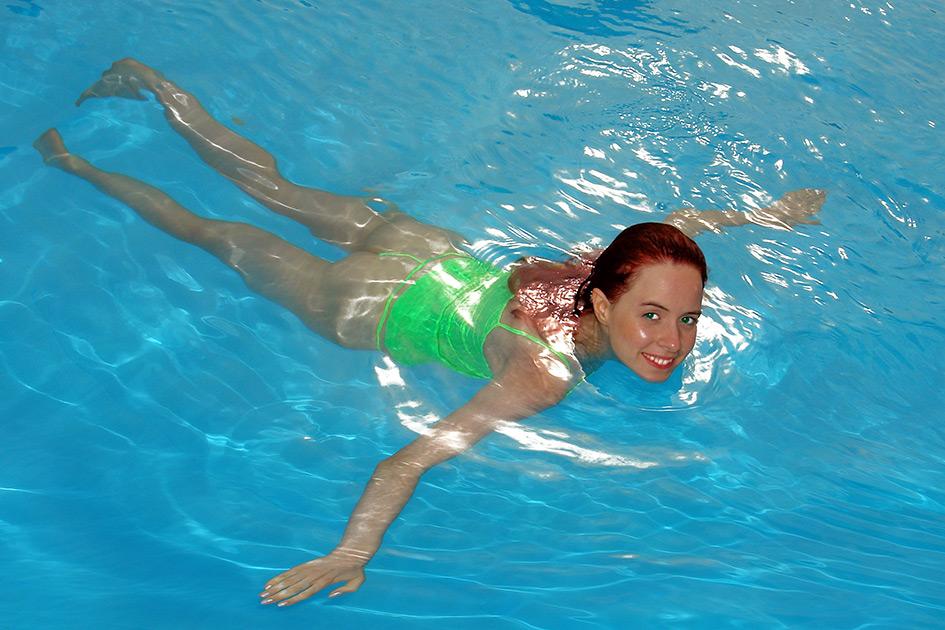 Schwimmbad Frauen