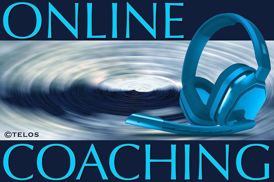 Einzelberatung Online-Coaching Logo / Grafik: TELOS - 2461e