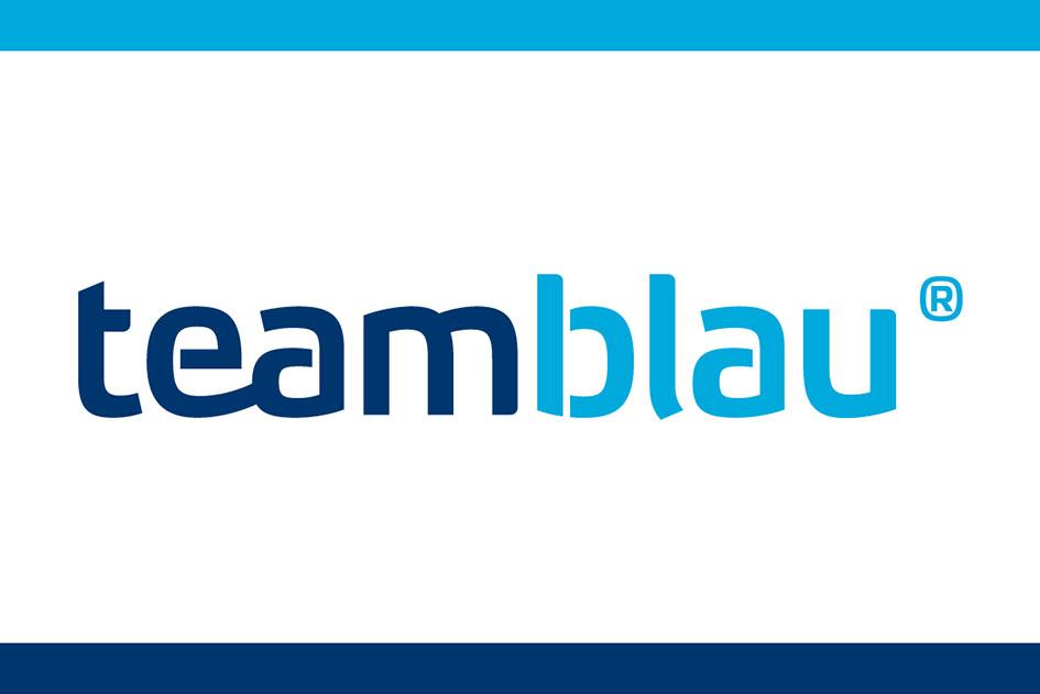 Kundenstimmen Logo Teamblau