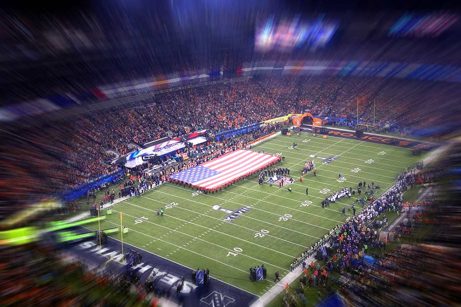 Sport USA Super Bowl 2018 / Bildbearbeitung: TELOS - web2595