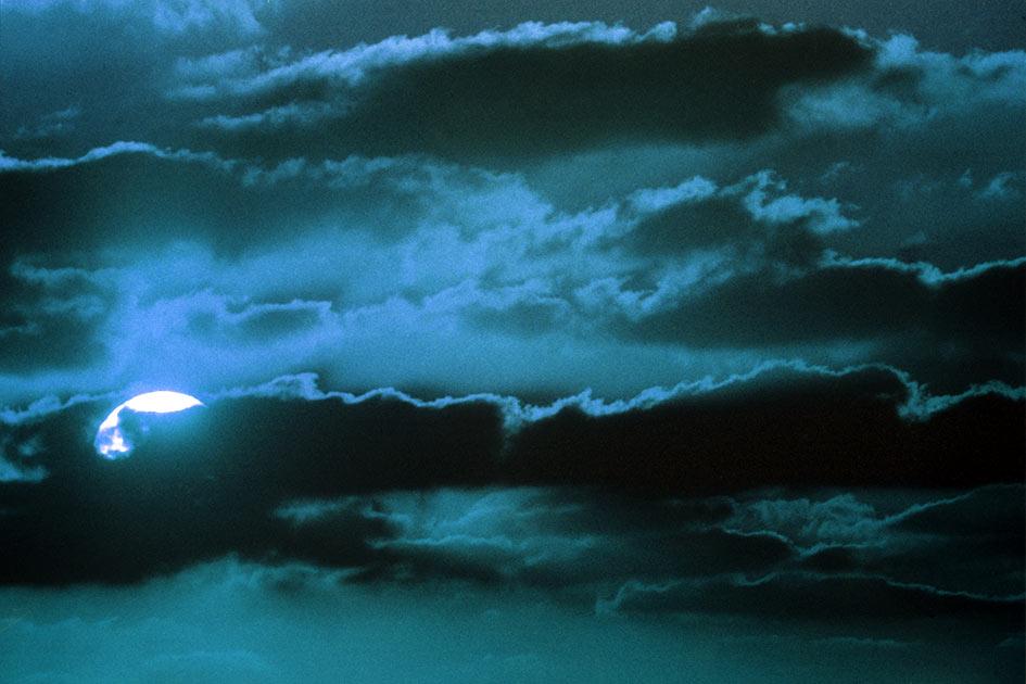 Wolken Nacht