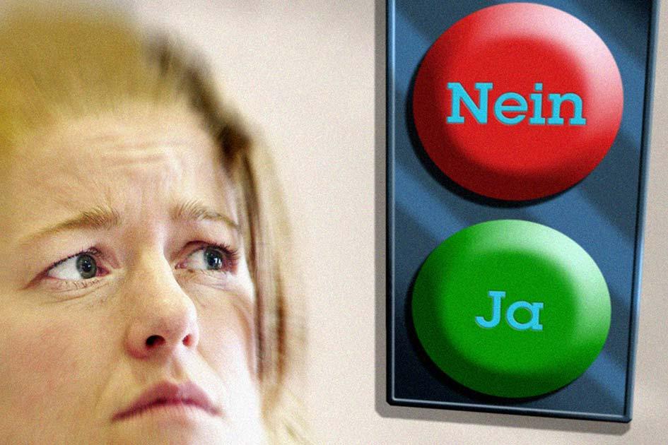Angst Unsicherheit Nein Ja Nein sagen / Foto: TELOS - 13151d
