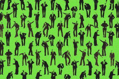 Körpersprache Körperhaltungen Mann / Grafik: TELOS - 05649drg