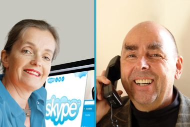Mag. Magdalena Gasser Dr. Elmar Teutsch Online Coaching Skype Telefon / Foto: TELOS - E8445s-C904b