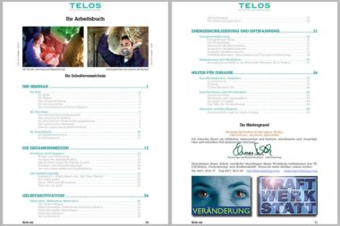 Seminarunterlagen Didaktik Arbeitsbücher 2 Inhaltsverzeichnis / Grafik: TELOS