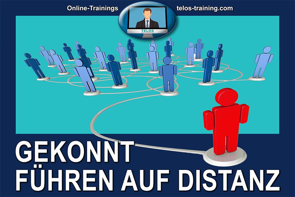 TELOS Onlinetraining Gekonnt führen auf Distanz Logo / Grafik: TELOS - 3003