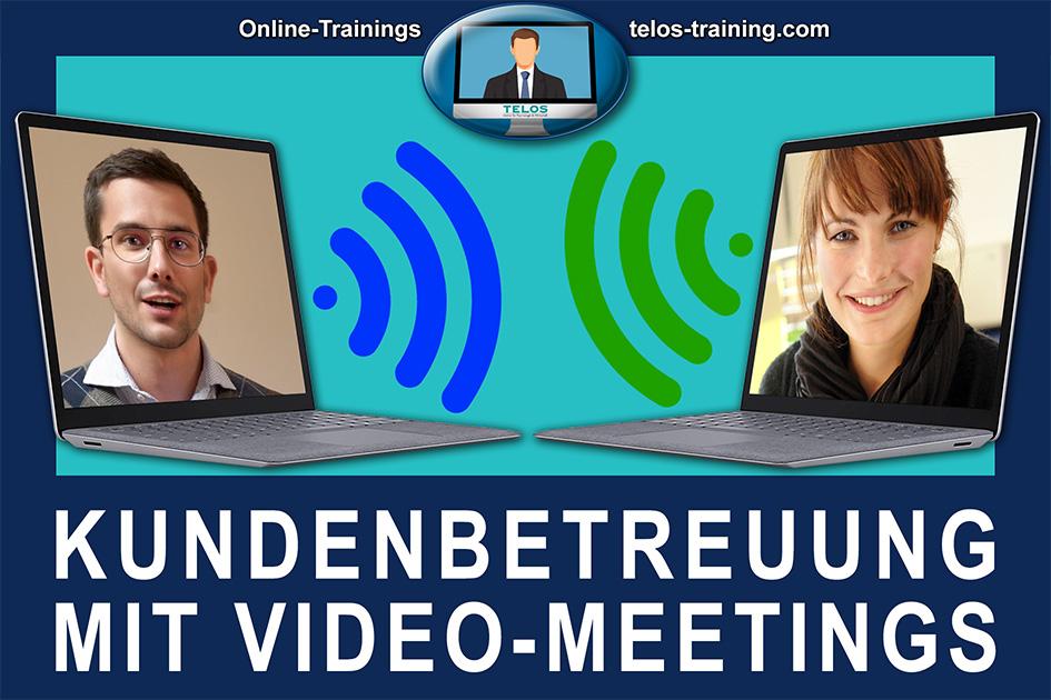 TELOS Onlinetraining Kundenbetreuung mit Video-Meetings Logo / Grafik: TELOS - 3002