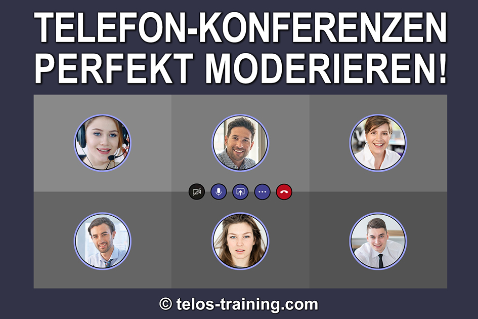 Telefonkonferenz Logo Audio Meeting Konferenz online / Grafik: TELOS - 2996