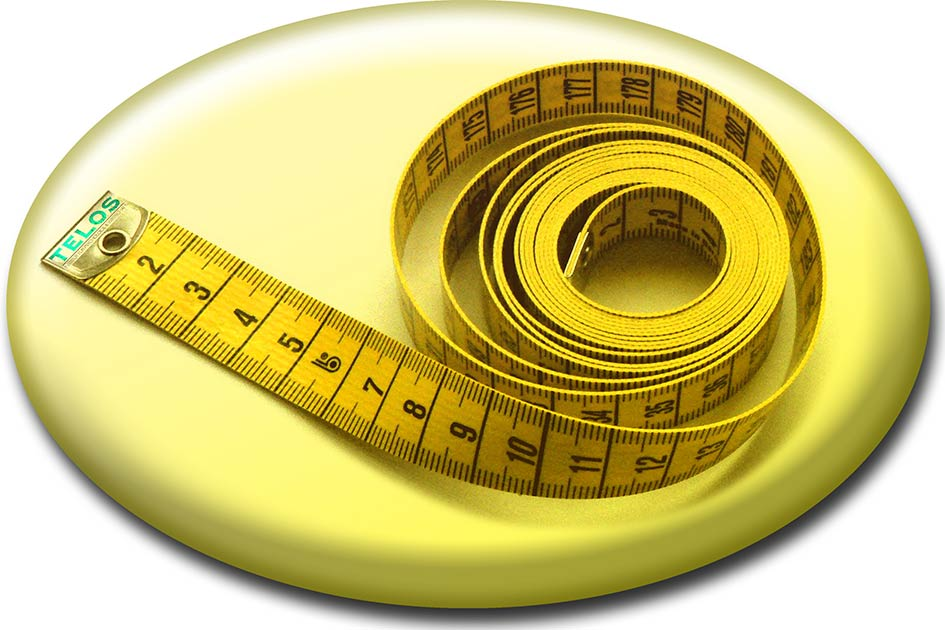 Seminare maßgeschneidert Inhouse auf Maß Button Meterband / Grafik: TELOS - 10458tbG