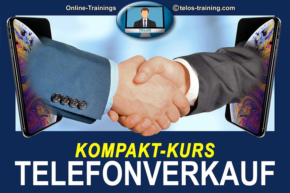 TELOS Onlinetraining Telefonverkauf Kompaktkurs Logo 3010 / Grafik: TELOS